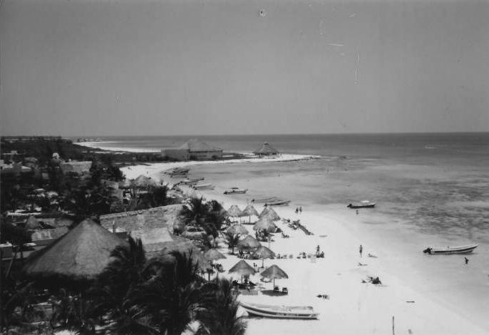 Fotos Antiguas de Playa del Carmen
