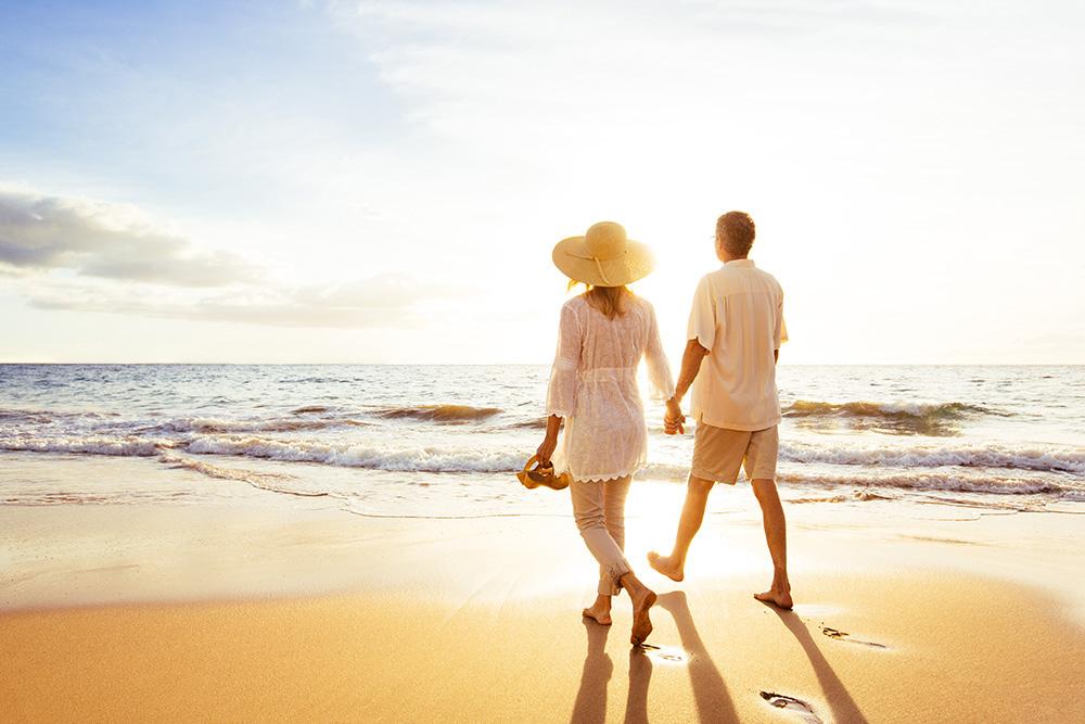 caminata playa